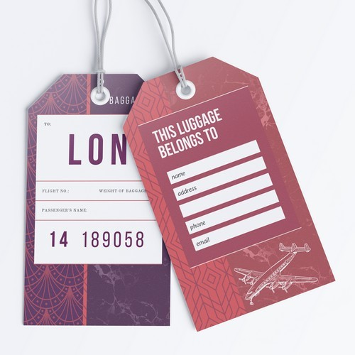 MDY Luggage Tags s