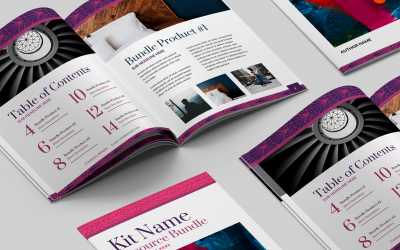 Featured project: Canva Templates for a course